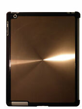iPad 3 Bronze Quality Shining Aluminium Hard Back Case Cover for Elegant Look