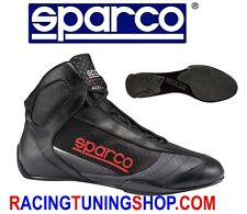 SCARPE KART SPARCO SUPERLEGGERA KARTING SHOES SIZE EU 47 BLACK KARTSCHUHE