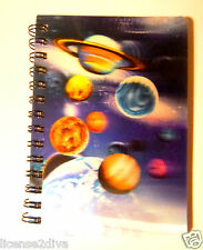 """LENTICULAR SOLAR SYSTEM! 3D! 3 1/2"""" X 5""""! 50 SHEETS! KEEP 3D PVC PICTURE! NEW"""