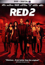 RED 2 (DVD, 2013) GREAT SHAPE
