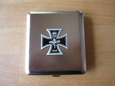 Eiserenes Kreuz 1813 EK Zigaretten Etui Iron Cross Cigarette Case WWI Monarchie