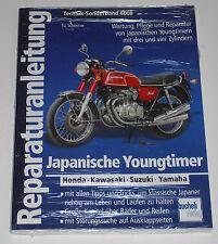 Reparaturanleitung Honda Kawasaki Suzuki Yamaha - Youngtimer 1969 - 1990