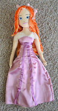 "HUGE 36"" Princess Giselle My Size 3ft Plush Stuffed Figure Doll Disney Enchanted"