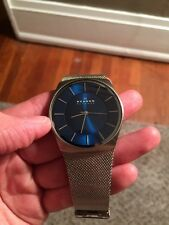 Skagen Men's Quartz Watch W/ Mesh Band SKW6068
