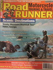 Road Runner Motorcycle Touring & Travel Magazine December 2007 Kawasaki Concours