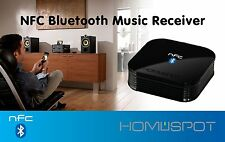 HomeSpot Bluetooth NFC-enabled Bluetooth Audio Receiver for Sound System BT4.0