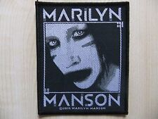 Marilyn Manson - Villain - Aufnäher - Patch - Nine Inch Nails - Rammstein