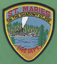 ST. MARIES IDAHO FIRE DEPARTMENT PATCH