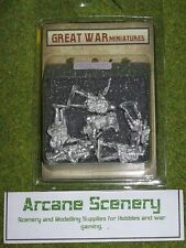 GREAT WAR MINIATURES German Infantry assault G3 28mm