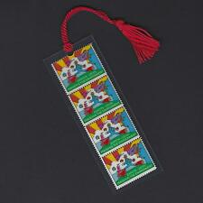 Peter Max's Cosmic Jumper Stamps Bookmark L@@K!