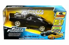 JADA R/C RADIO CONTROL CAR FAST & FURIOUS DOM'S DODGE CHARGER R/T 97584