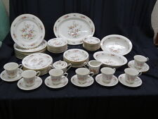 56 Pc Set Noritake Ivory China ASIAN SONG #7151 Dinner & Serving Dishes, Japan
