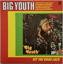 Big Youth - Hit The Road Jack LP UK Trojan Records TRLS 137 Classic Roots Reggae
