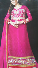 Bollywood Indian Pakistani Partywear Suit Anarkali Ethnic Suit [Hand Resham Work