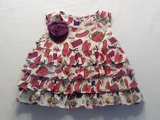Lola et Moi Teapot Teacup Tiered Ruffled Dress, 18 mos.