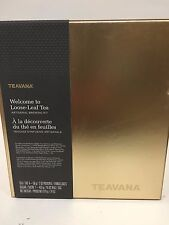*Teavana/Starbucks*WelcomeKit 4Teas&Tins,Perfect Tea Maker, Perfectea Spoon*New*