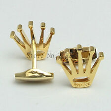 Rolex Crown CuffLinks 18k Gold Plated