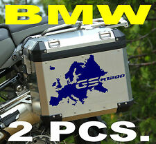 BMW GS 1200 TWO EUROPE EUROPA GS STICKERS ADESIVI DECAL - THE1200STICKERS