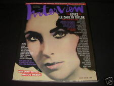Interview Magazine September 2007 Elizabeth Taylor The Crystal Ball of Pop