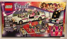 LEGO Friends 41107 POP STAR LIMO Set with Livia and Olivia - NEW