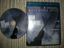 BLU RAY BLURAY PELICULA MAN ON WIRE USADO BUEN ESTADO