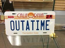Back To The Future, OUTATIME Vanity Novelty license plate