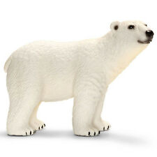 FREE SHIPPING | Schleich 14659 Polar Bear Wild Animal Model Toy - New in Package