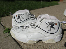 Free Shipping Very Rare Sample 18 AND 1 Basketball Shoes White and black
