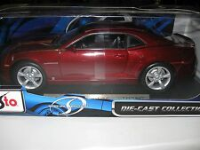 MAISTO 1:18 2010 CHEVY CAMARO SS RS MAROON DIECAST SPECIAL EDITION