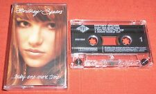 BRITNEY SPEARS CASSETTE TAPE SINGLE- ...BABY ONE MORE TIME