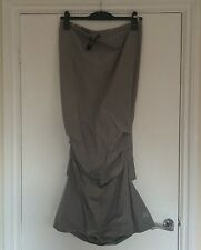 Cyberdog Mermaid Fishtail Long Skirt Small Silver Grey Discontinued