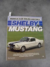 Corcoran Schelby Mustang Automobile Competition cars 1965 1970