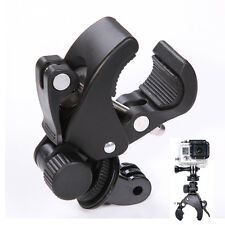 Bike Bicycle MTB Handlebar Mount Clamp Clip Tripod Screw For Gopro Hero 4 3+ 3 2