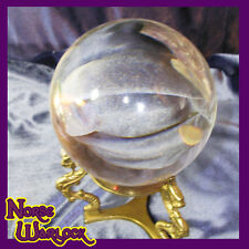 Psychic Dragon Crystal Scrying Ball True Visions metaphysical paranormal haunted