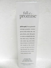 PHILOSOPHY FULL OF PROMISE TREATMENT DUO AM & PM ANTI-AGING SERUM FULL SIZE 1oz
