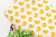 Rubber Duck Character Fabric made in Korea By the Yard