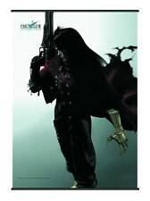 """FINAL FANTASY VII- VINCENT VALENTINE - WALL SCROLL 30""""x41""""-NEW IN SEALED PACKAGE"""