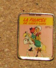 A38 VINTAGE PIN LUCKY LUKE FIANCÉE BD CARTOON 1""
