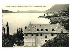 CPA 74 Haute-Savoie Lac d'Annecy Menthon Saint-Bernard Palace Hôtel et le Baie
