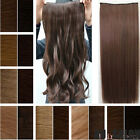 clearance sales clip in hair extensions 3/4 full head heat resistant human made