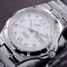 ENICAR AUTOMATIC ETA-2836-2 DAY&DATE MEN'S ANALOG DRESS WATCH SWISS MADE