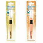 Set of 2 Cornerstone Crochet Lite Crochet Hooks Sizes C 2.50 and D 3.0