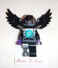 Lego Minifig Chima Rizzo 70008 Raven Bird Mask Feather Wing Peg Leg