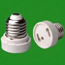 Rosca Edison es E26 a gu24 Bombilla Adaptador titular Convertidor base zócalo de lámpara