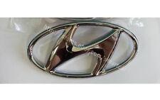 """2011 2012 2013 2014 Hyundai Elantra OEM Trunk Lid """"H"""" Chrome Emblem Badge"""