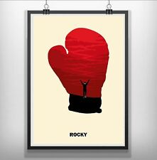 Rocky Minimalist Minimal Film Movie Print Poster
