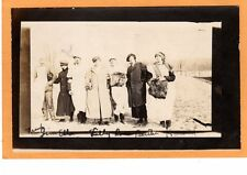 Real Photo Postcard RPPC - Men & Women Crossdressing Gay Lesbian Interest