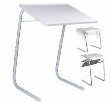 TABLE MATE II NEW PORTABLE ADJUSTABLE FOLDING TABLE TV DINNER LAPTOP TRAY