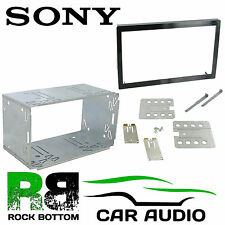 SONY XNV-L66BT 100MM Replacement Double Din Car Stereo Radio Headunit Cage Kit