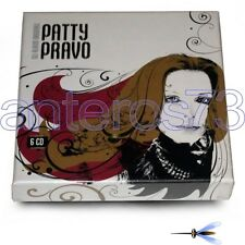 "PATTY PRAVO ""GLI ALBUM ORIGINALI"" RARO BOX 6 CD FUORI CATALOGO - SIGILLATO"